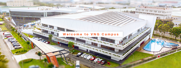 VNG Campus, mô hình văn phòng thông minh quốc tế ảnh 1