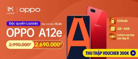 OPPO A12e bán trên Lazada với giá ưu đãi 2.690.000 đồng  ảnh 3
