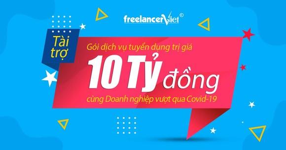 FreelancerViet tài trợ chi phí tuyển dụng trị giá 10 tỷ đồng cho 1.000 doanh nghiệp