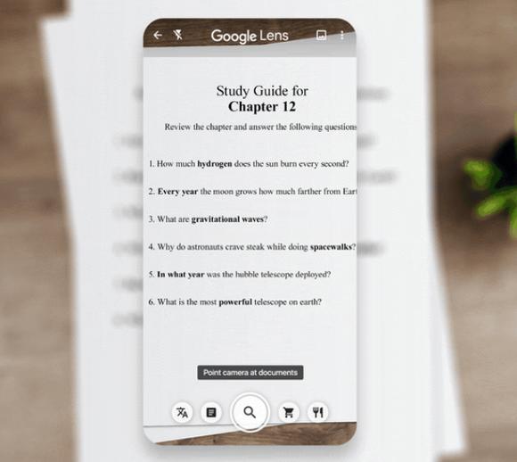 Google Ống kính: Phương thức tìm thông tin, và học thông minh hơn ảnh 2