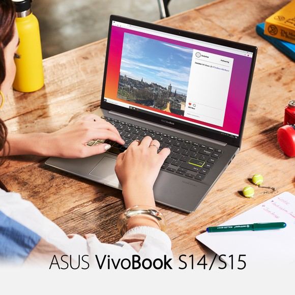 ASUS: Bộ ba laptop VivoBook S13, S14 và S15 sử dụng vi xử lý Intel Core thế hệ 10 ảnh 6