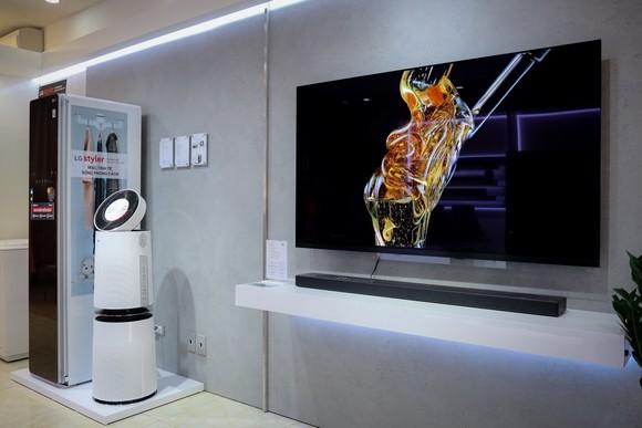 LG đưa thiết bị mới nhất vào Showroom Vinhomes Gardenia ảnh 1