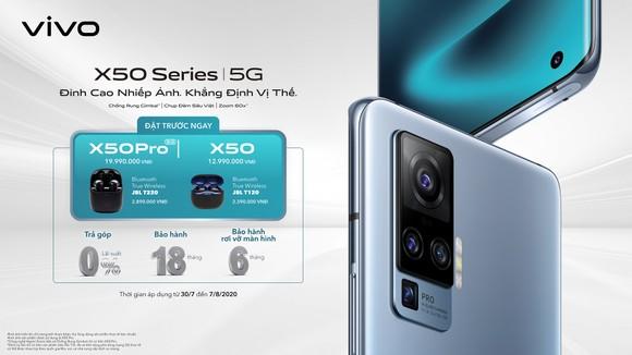 vivo: Dòng smartphone cao cấp X50 Series đã lên kệ tại Việt Nam  ảnh 2