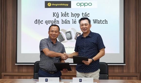 Thế Giới Di Động phân phối độc quyền OPPO Watch ảnh 2