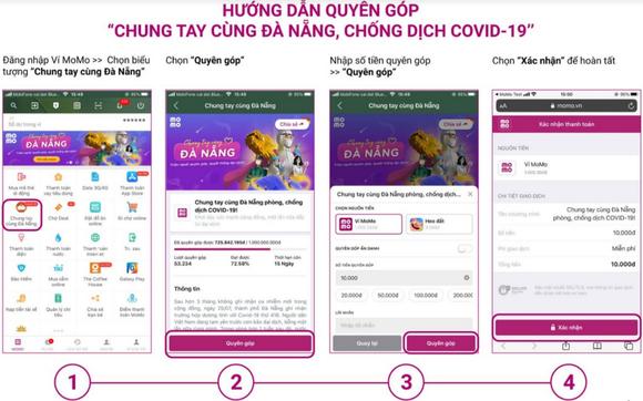 """Ví MoMo triển khai hàng loạt chiến dịch """"Chung tay cùng Đà Nẵng""""  ảnh 2"""