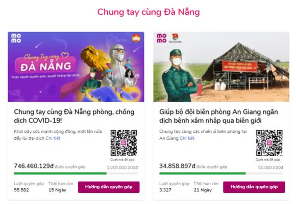 """Ví MoMo triển khai hàng loạt chiến dịch """"Chung tay cùng Đà Nẵng""""  ảnh 1"""