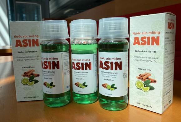 SHTPLAbs, BV Pharma và Pomax thương mại hoá nước súc miệng là ASIN ảnh 1