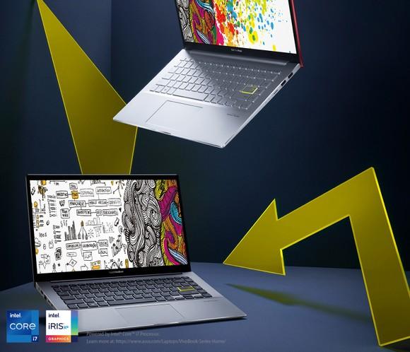 ASUS VivoBook S14 laptop trang bị Intel Core i thế hệ thứ 11 đầu tiên ảnh 1