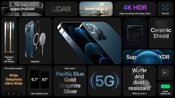 iPhone 12 với nhiều công nghệ mới mẻ