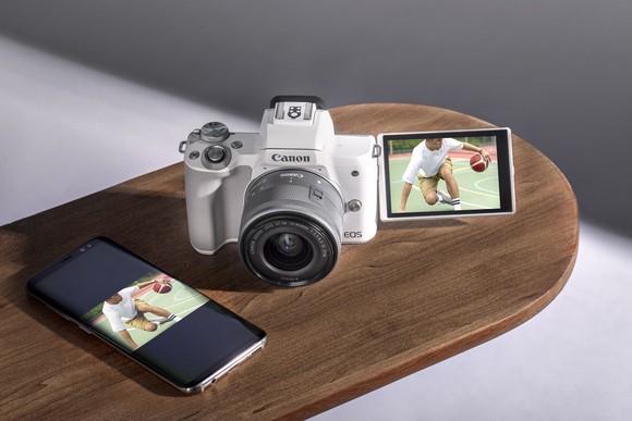 Canon EOS M50 Mark II có mức giá 16 triệu đồng tại thị trường Việt Nam ảnh 2