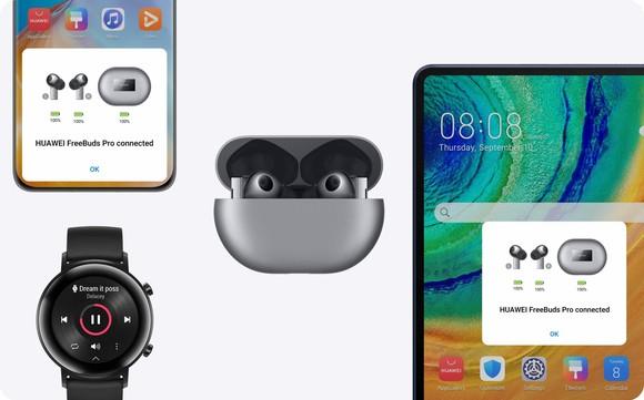 Huawei FreeBuds Pro, tai nghe không dây đầu tiên sở hữu công nghệ sạc nhanh kép ảnh 2