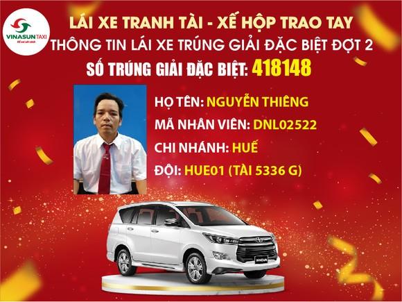 Vinasun Taxi tổ chức Lễ quay thưởng giải đặc biệt 01 xe Toyota Innova 2.0G AT 2019 ảnh 1