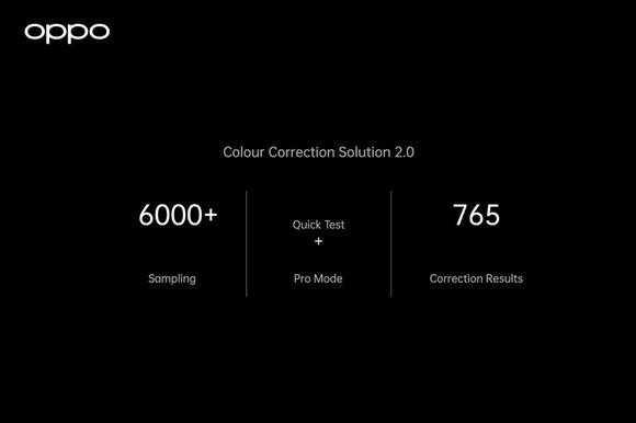 Hệ thống Quản lý màu sắc toàn diện của OPPO sẽ ứng dụng trên dòng smartphone cao cấp của hãng ảnh 3