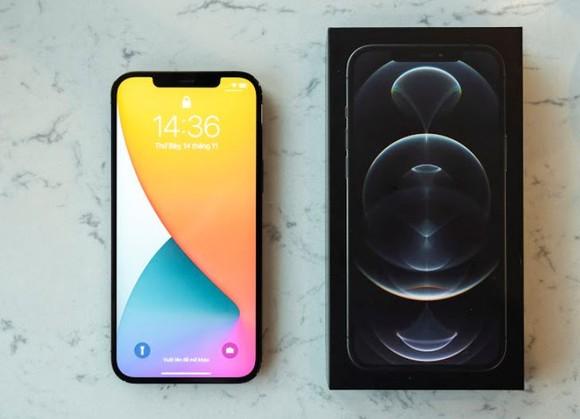Phone 12 Pro Max VN/A hai phiên bản màu Pacific Blue và Graphite đã trở lại ảnh 1