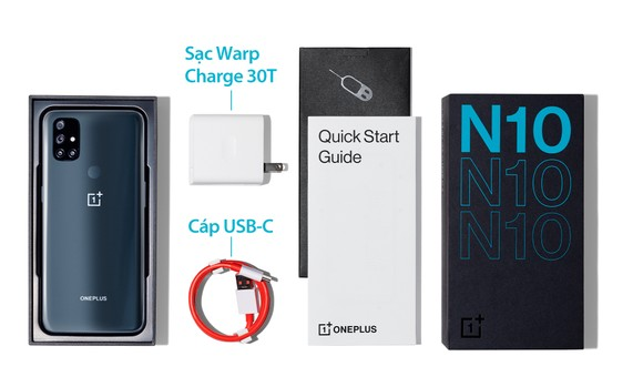 OnePlus ra mắt OnePlus Nord N10 đón chờ làn sóng 5G tại Việt Nam ảnh 1