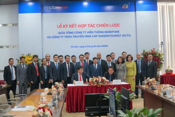 MobiFone và SCTV ký kết Thỏa thuận hợp tác chiến lược toàn diện ảnh 2