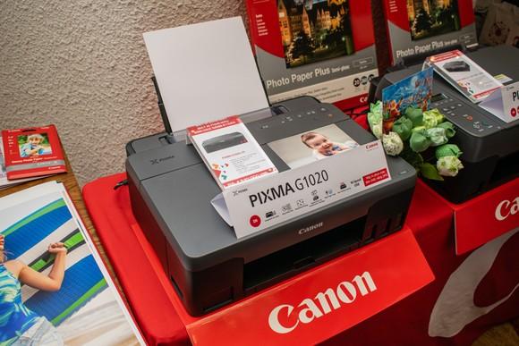 Loạt máy in mới dòng G Series từ Canon