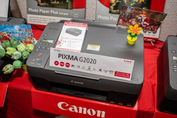 Loạt máy in mới dòng G Series từ Canon  ảnh 2