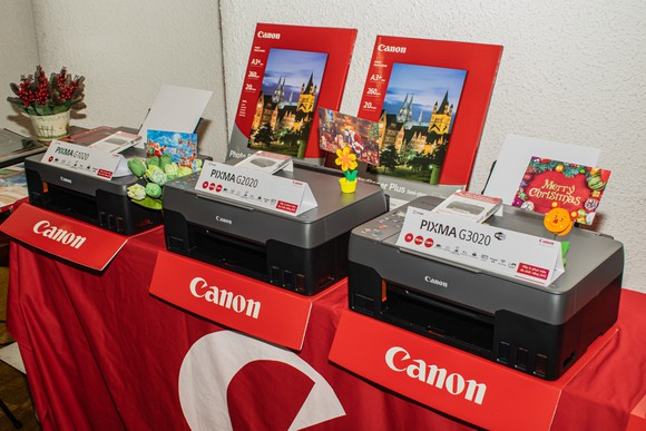 Loạt máy in mới dòng G Series từ Canon  ảnh 1