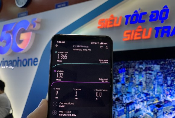 VNPT chính thức công bố vùng phủ sóng VinaPhone 5G tại Hà Nội và TPHCM ảnh 2