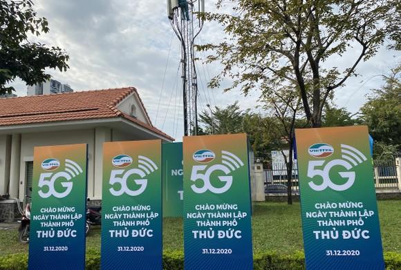 Viettel và VinaPhone phủ sóng 5G tại khu vực sẽ là trung tâm Thành phố Thủ Đức ảnh 1