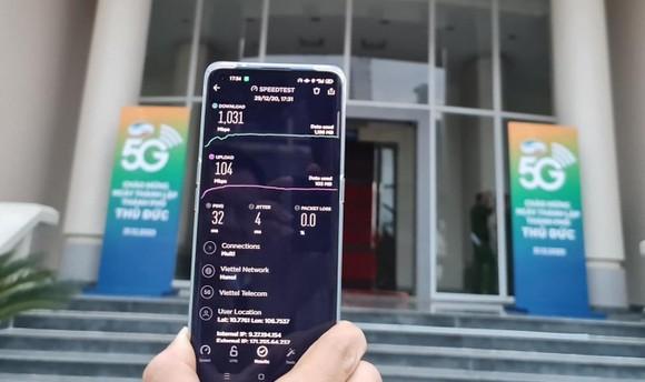 Mang 5G Viettel đã có thải khu vực sẽ là trung tâm TP Thủ Đức