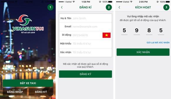 Trải nghiệm Vinasun app: Nhiều tiện lợi! ảnh 1