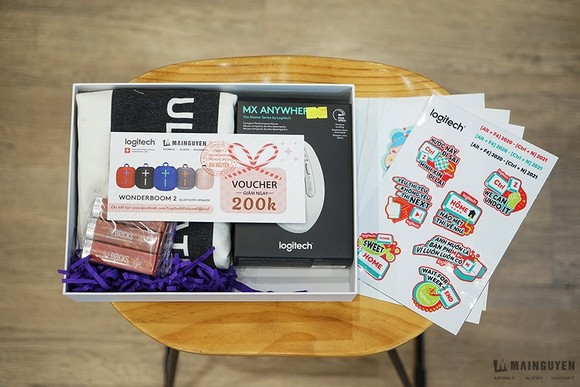 Hộp quà tết và Valentine 2021 độc quyền từ Logitech  ảnh 4