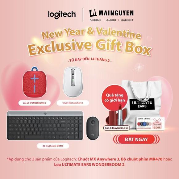 Hộp quà tết và Valentine 2021 độc quyền từ Logitech  ảnh 5