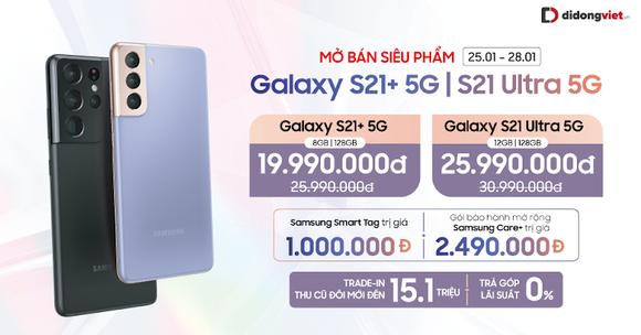Galaxy S21 Plus 5G giảm còn 19.99 triệu đồng  ảnh 2