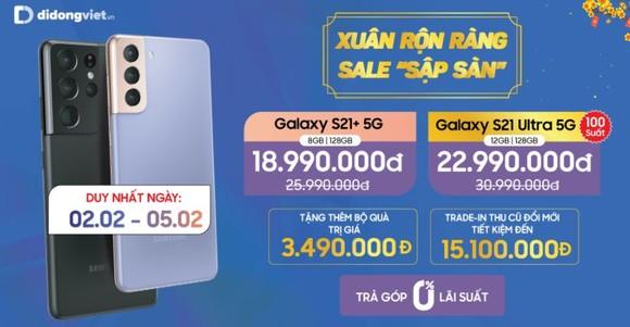 Samsung S21 Ultra 5G giá 22,99 triệu đồng có đáng sở hữu vào dịp tết? ảnh 1
