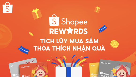 Shopee Rewards - chương trình mới của Shopee