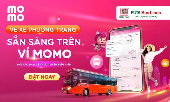 Xe Phương Trang hợp tác cùng Ví MoMo thúc đẩy vé xe điện tử ảnh 1