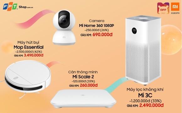Hệ sinh thái Xiaomi chính hãng lên kệ, FPT Shop giảm giá đến 50% ảnh 1