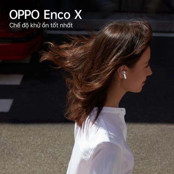Hợp tác cùng Dynaudio, OPPO ra mắt tai nghe không dây cao cấp Enco X ảnh 3