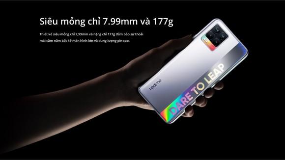realme 8 và realme 8 Pro được bán ra tại Việt Nam  ảnh 6