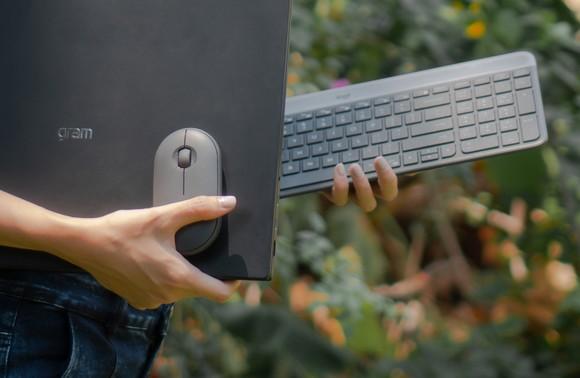 Laptop LG gram 2021 và chuột Logitech Pebble: Hơn cả bộ đôi phong cách! ảnh 2