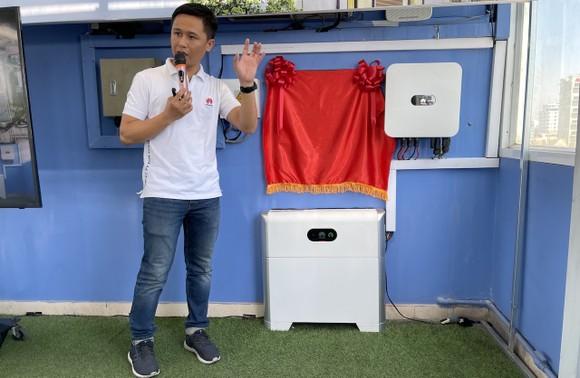 Huawei ra mắt dự án điện mặt trời áp mái hộ gia đình sử dụng bộ lưu trữ thông minh ảnh 1