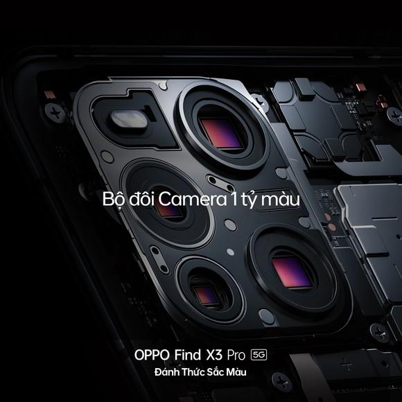 OPPO Find X3 Pro 5G thiết kế độc đáo, tính năng đặc biệt... đã cho đặt hàng tại Việt Nam ảnh 2