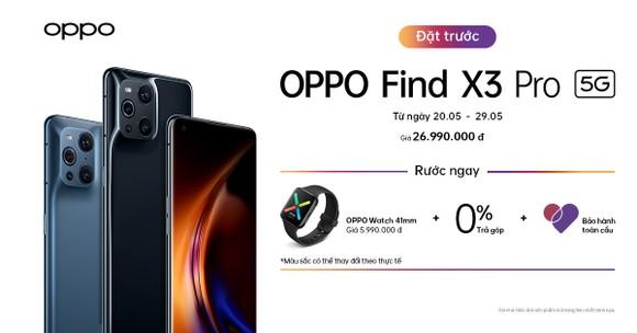 OPPO Find X3 Pro 5G thiết kế độc đáo, tính năng đặc biệt... đã cho đặt hàng tại Việt Nam ảnh 7