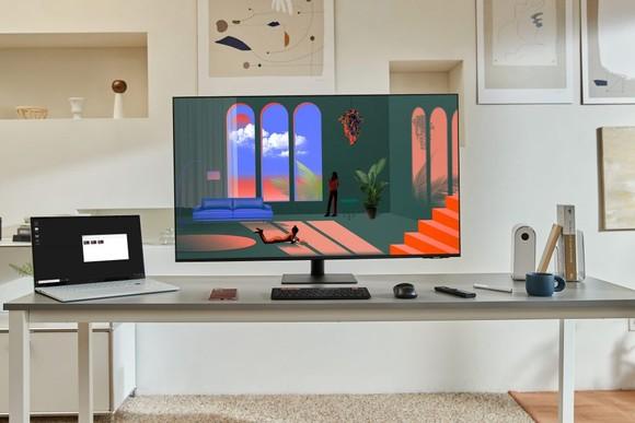 Samsung ra mắt loạt sản phẩm màn hình Smart Monitor  ảnh 1