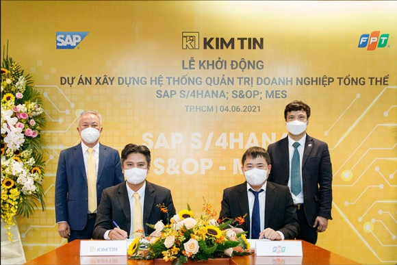 Tập Đoàn Kim Tín và Tập đoàn FPT đã chính thức ký kết hợp đồng