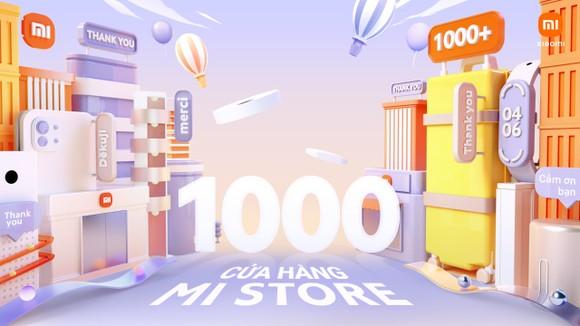 Xiaomi cán mốc 1000 Mi Store trên toàn thế giới