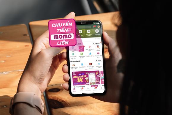 """Ví MoMo thay icon mới trên tính năng """"Chuyển tiền"""""""
