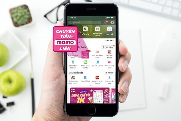 """Ví MoMo thay icon mới trên tính năng """"Chuyển tiền"""" ảnh 1"""