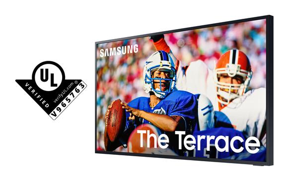 Samsung The Terrace: Ti vi đầu tiên nhận chứng nhận hiệu suất hiển thị ngoài