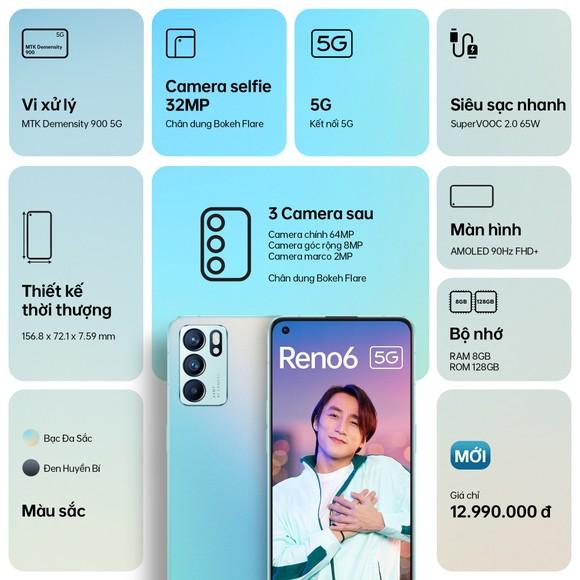 OPPO Reno6 5G với loạt tính năng camera chân dung ấn tượng ảnh 4