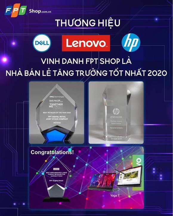 FPT Shop tăng trưởng mạnh mảng laptop ảnh 1