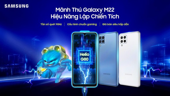 Samsung Galaxy M22: Smartphone tầm trung nổi bật nhất trong phân khúc  ảnh 3