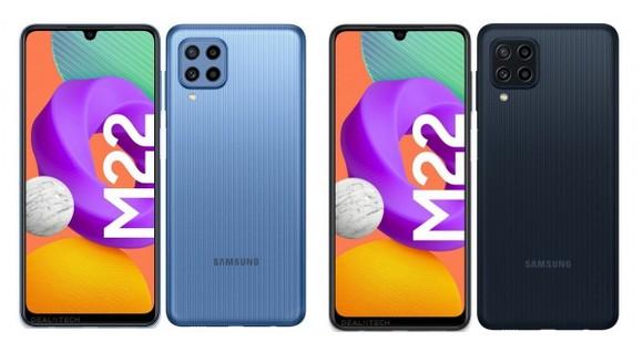 Samsung Galaxy M22: Smartphone tầm trung nổi bật nhất trong phân khúc